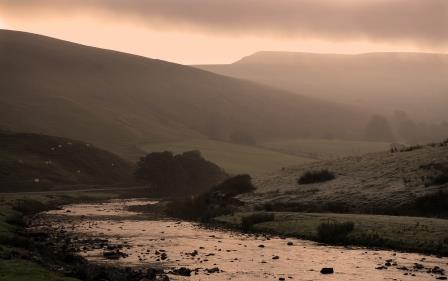 Mallerstang at twilight